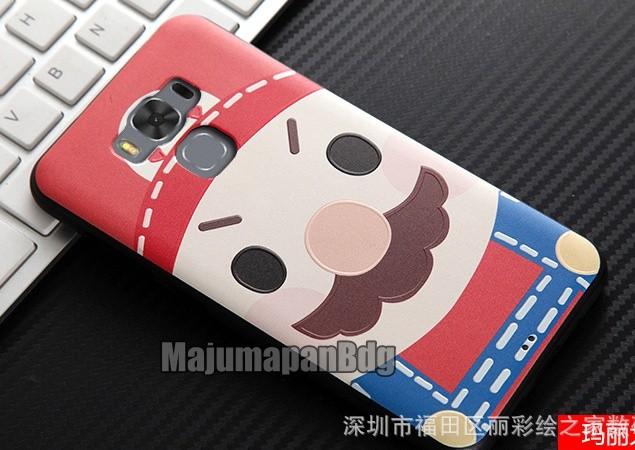 "3d Case Asus Zenfone 3 Max 5.5"" ZC553KL Cartoon Kartun Softcase Rubber"