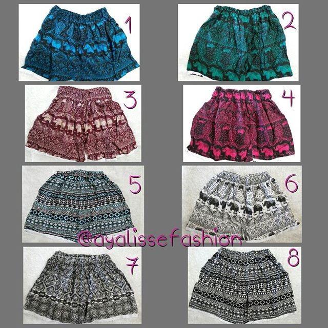 harga Celana pendek renda kecil motif batik etnik dan gajah Tokopedia.com