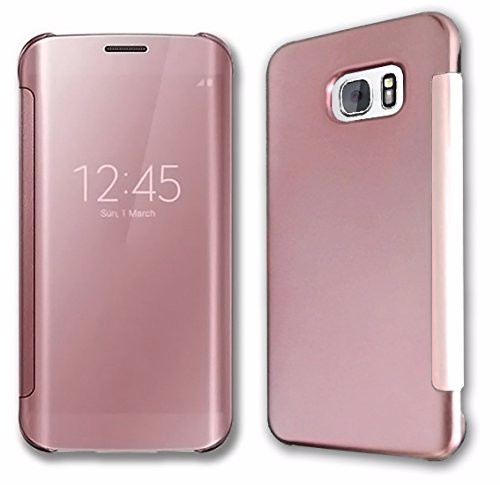 reputable site 59a63 5bb2a Jual Original Samsung Clear View Cover Galaxy S7 edge -Rose gold Limited -  Megabazar | Tokopedia