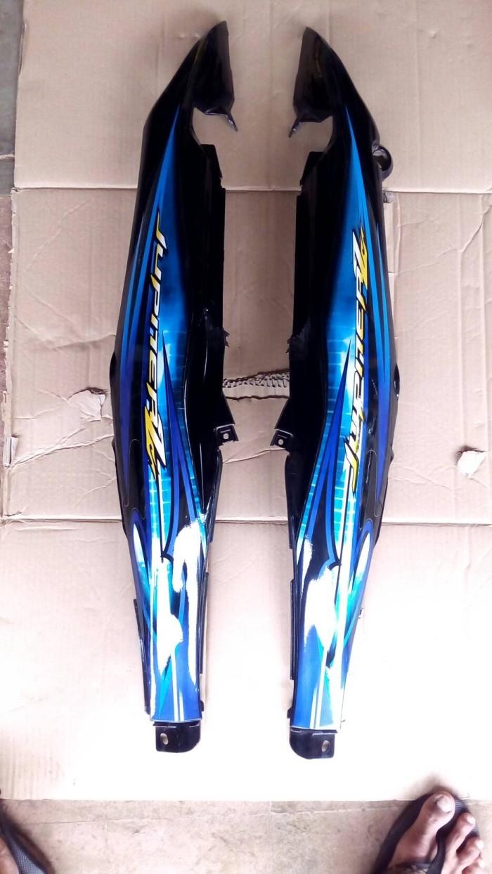 Jual Cover Body Belakang Yamaha Jupiter Z Burhan Burung Hantu Striping Biru Kab Bogor Kipli Motor