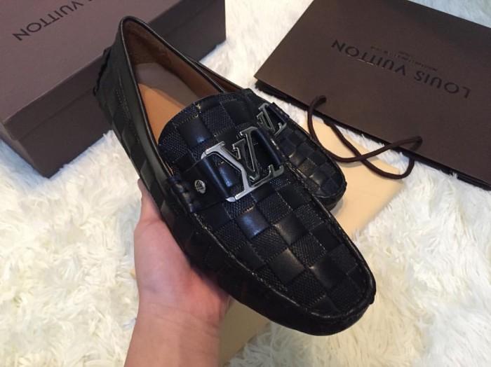 Jual Sepatu casual pria cowok lv louis vuitton ori leather kw super ... 89227335d8