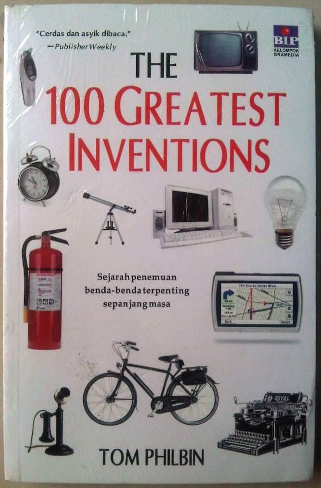 harga The 100 greatest inventions sejarah penemuan benda Tokopedia.com