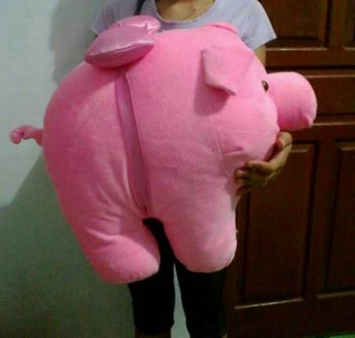 harga Boneka babi pink ukuran super jumbo besar grosir Tokopedia.com