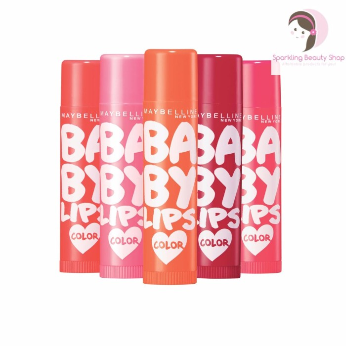 Maybelline Baby Lips Love Color Lip Balm - Barang ori (tinted)