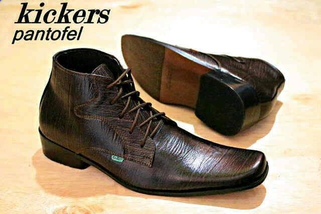 harga Sepatu kickers pantofel kulit Tokopedia.com