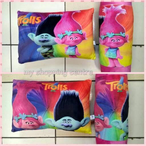 harga Paket bantal guling trolls (1 set dapat bantal dan guling) Tokopedia.com