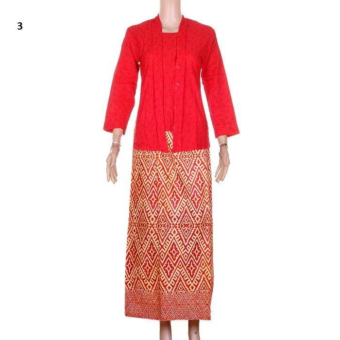 harga Setelan rnb kebaya embos kutubaru + rok batik ratu ( panjang) - no 3 Tokopedia.com