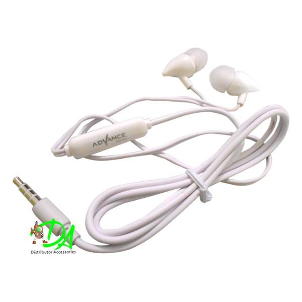 Earphone Stereo Handsfree Headset Advance MU9