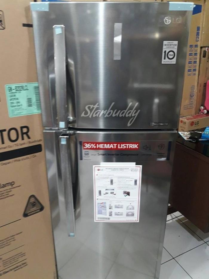Kulkas LG 2pintu GN B202RLCL Smart Inverter