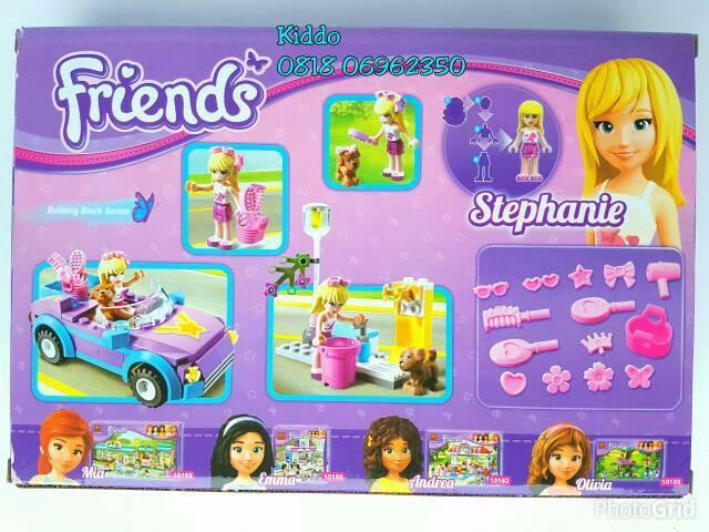Jual Lego Friends Car And Dog 11 Emma Olivia Stephanie Mia