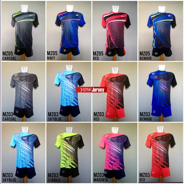 Jual Baju Kaos Olahraga Jersey Voli Setelan Volley Asics Mizuno ... fa019eee8b