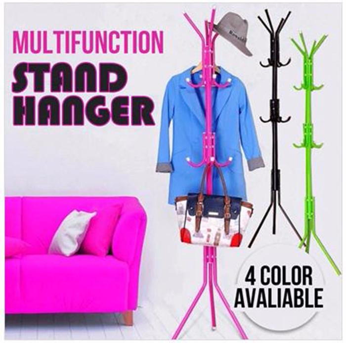 Stand Hanger / MULTIFUNCTION STANDING HANGER PORTABLE GANTUNGAN BAJU