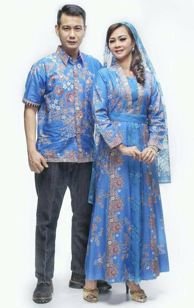 Jual Batik Sarimbit Gamisbatik Couple Modern Kd Kombinasi Brokat Kab Sukoharjo Baju Batik Seragam Tokopedia