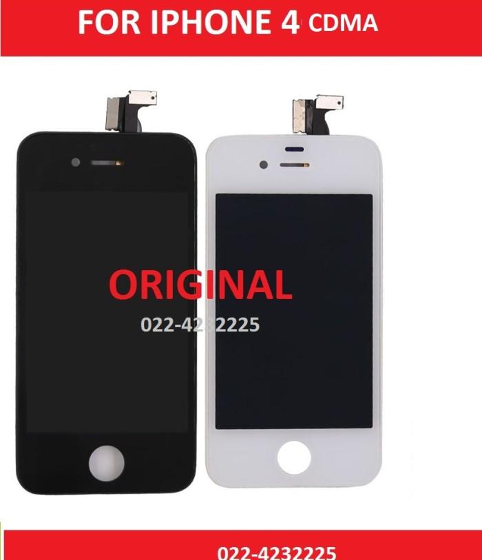 harga Iphone 4 4g cdma lcd + touch touchscreen white ori original 701555 Tokopedia.com