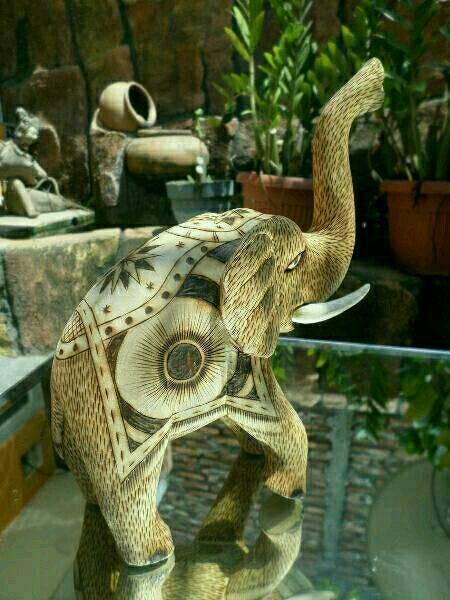 harga Patung antik dewa gajah dwipa kayu Tokopedia.com