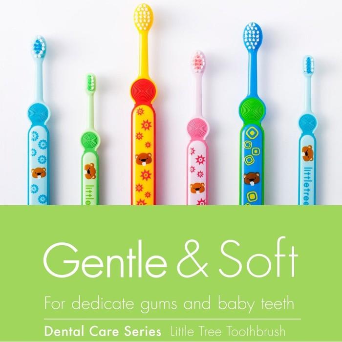 Little Tree Toothbrush Sikat Gigi Anak Bayi Balita 1 3 Tahun Hijau ... 8a855ff7eb