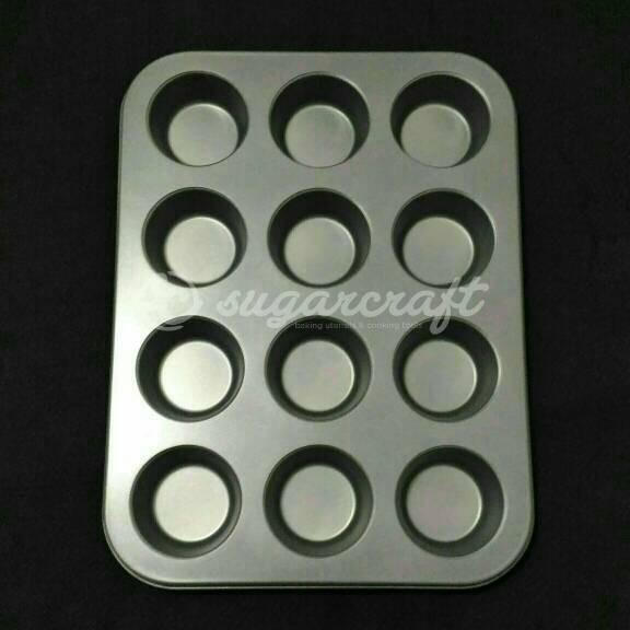 harga Loyang teflon muffin/cupcake 12cup Tokopedia.com
