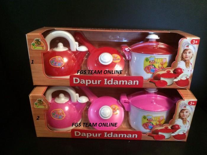 harga Mainan anak masak masakan dapur idaman/mainan kitchen set series Tokopedia.com