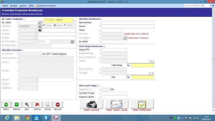 Software Surat Jalan Mobil Sparkpoks