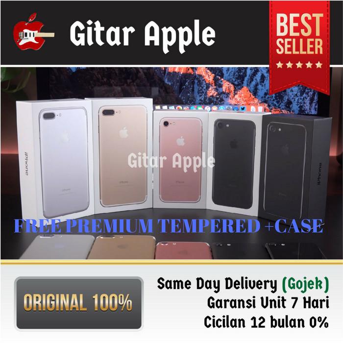 harga [hot murah] iphone 256gb 7 jet black bnib garansi apple original 1th Tokopedia.com
