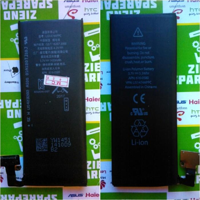 harga Iphone 4g / s / cdma baterai / battre original Tokopedia.com