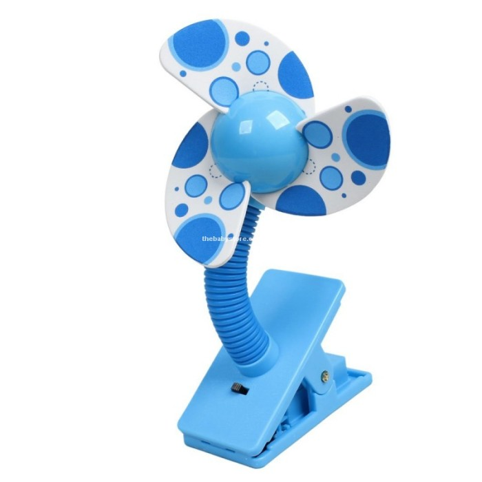 harga Deboo baby stroller mini fan polka blue / kipas angin stroller Tokopedia.com