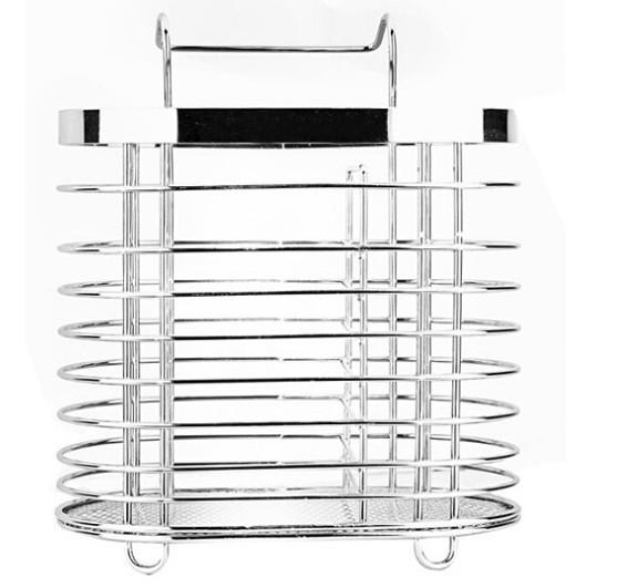 Tempat Sendok Garpu Gantung Cutlery Rack Keranjang Stainless Steel