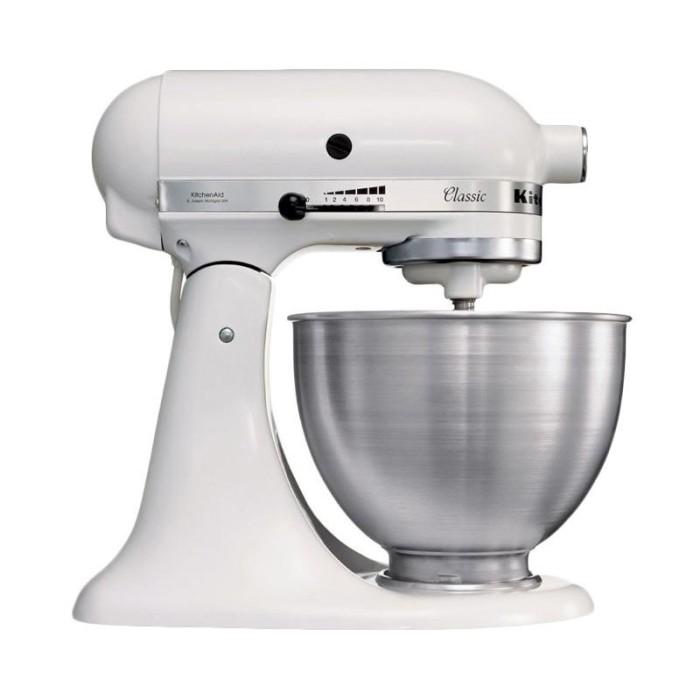 harga Kitchenaid classic 4.3 l tilt-head stand mixer - putih 5k45ss*wh Tokopedia.com