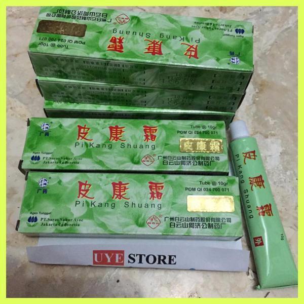 2 Tube 20 gram SALEP PI KANG SHUANG Obat Penyakit Kulit. Source · SALEP ANTI