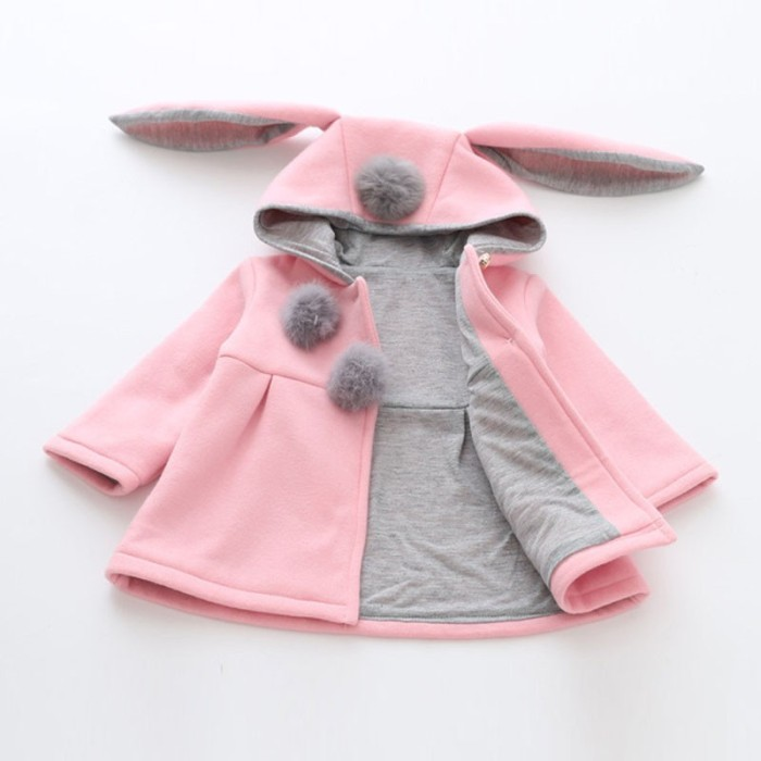 Bunny Coat / Jaket Anak Lucu Model Kuping Kelinci