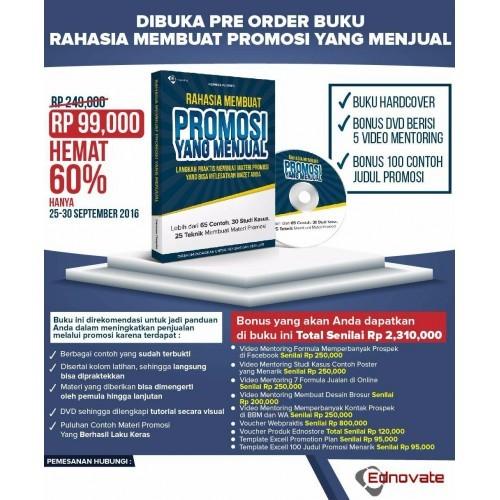 Jual Buku Rahasia Membuat Promosi Yang Menjual Jakarta Barat Fathima Store Jakarta Tokopedia