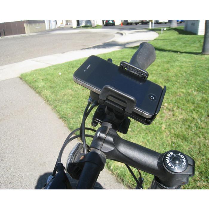 Holder Tempat Taruh HandPhone Di Motor / Sepeda Universal Max Protect