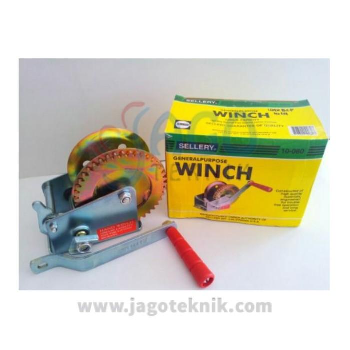 harga Hand winch sellery 1200lbs Tokopedia.com