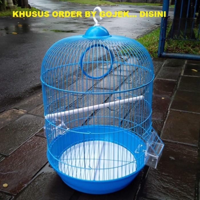 harga Order by gojek - sangkar / kandang burung bulat dia 33cm t 53cm Tokopedia.com
