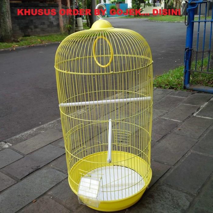 harga Order by gojek - sangkar / kandang burung bulat dia 33cm t 67cm Tokopedia.com