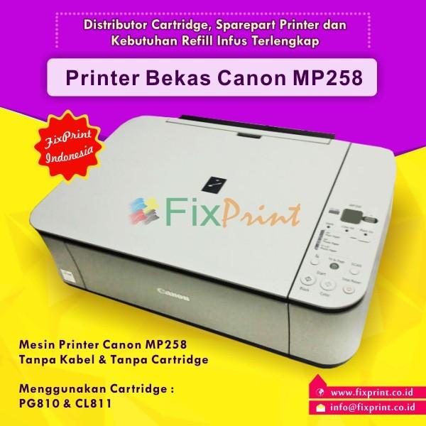 Jual Printer Canon Mp258 Bekas Printer Bekas Canon Mp258 Mp 258 Kota Surabaya Fixprint Store Tokopedia