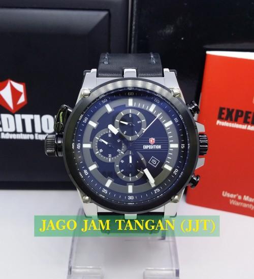 Jual Expedition E 6621 M Silver Black White Original - Jago Jam ... 777ef1d831