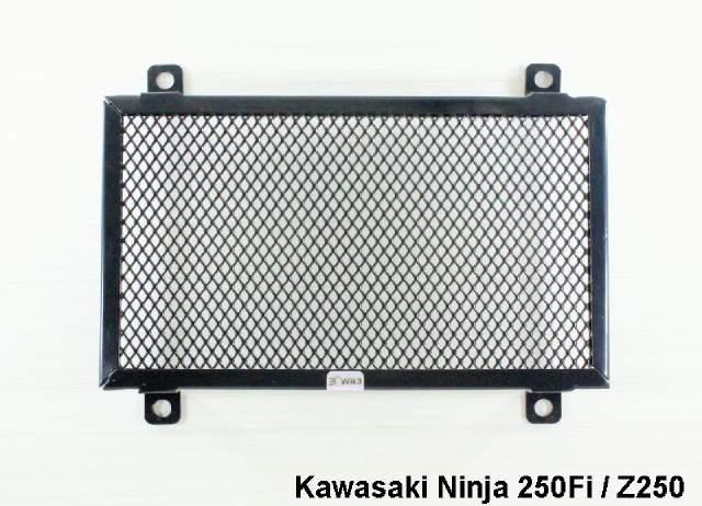 harga Tutup radiator wr3 ninja 250 fi / z250 black Tokopedia.com