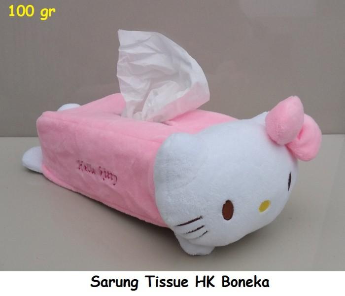 harga Tempat tissue hello kitty boneka / tempat tissue  doraemon boneka Tokopedia.com