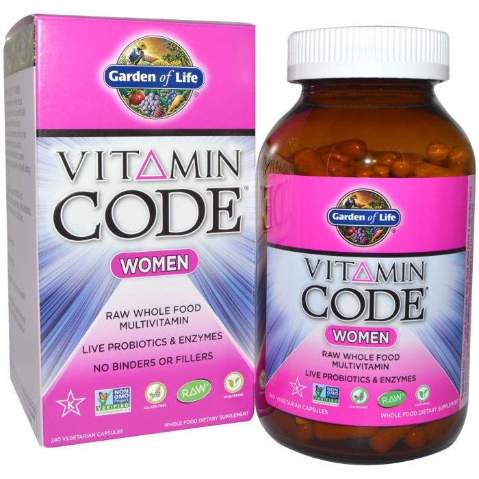 Jual 240 Capsule Garden Of Life Vitamin Code Women Vegan Multivitamin Kota Makassar Harapan Indah Organik Tokopedia