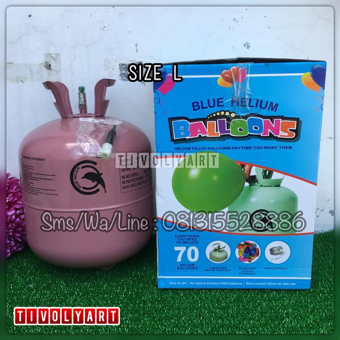 harga Tabung gas helium size l - 22 liter Tokopedia.com