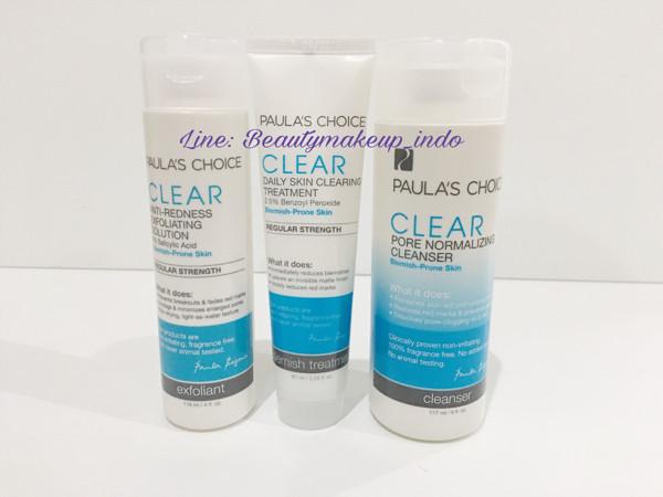 harga Paula choice full size clear regular acne kit Tokopedia.com