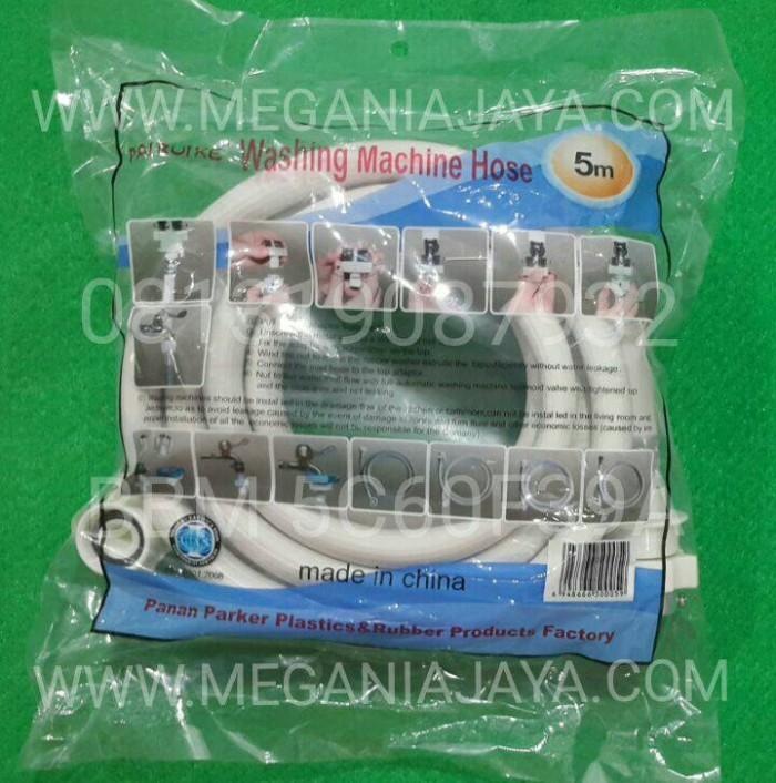 harga Selang inlet mesin cuci otomatis 5 meter / inlet hose Tokopedia.com