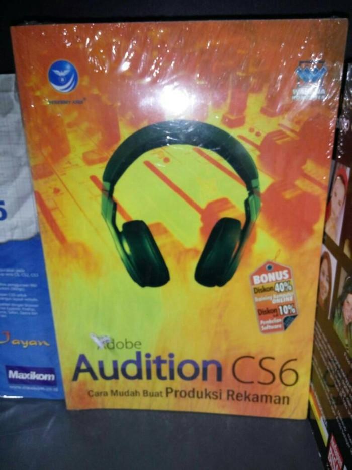harga Adobe audition cs6 cara mudah buat produksi rekaman Tokopedia.com