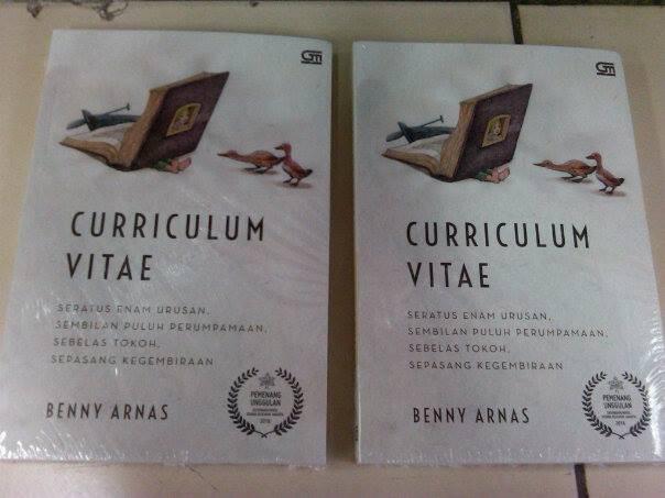 curriculum vitae benny arnas