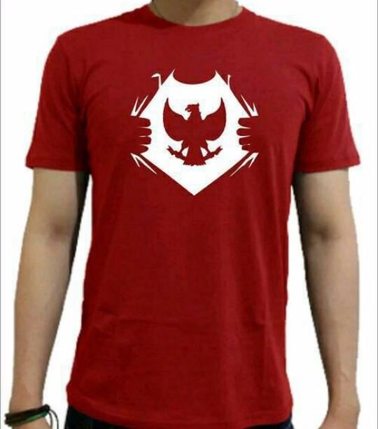 Jual Tshirt Baju Lambang Garuda Kaos Garuda Di Dadaku Kota