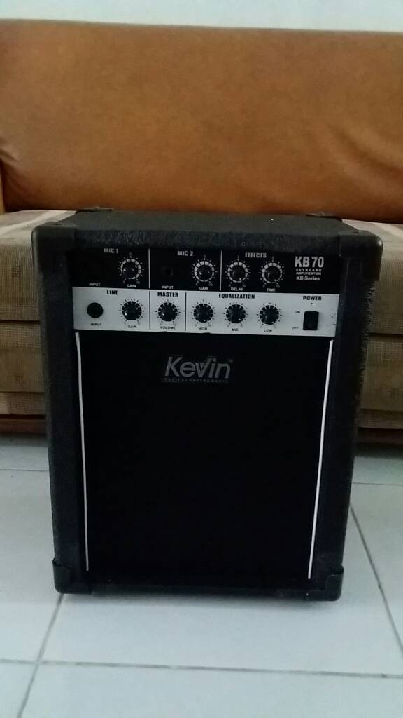 harga Amply speaker merk kevin kb70 / kb-70 10  for keyboard / recomended Tokopedia.com