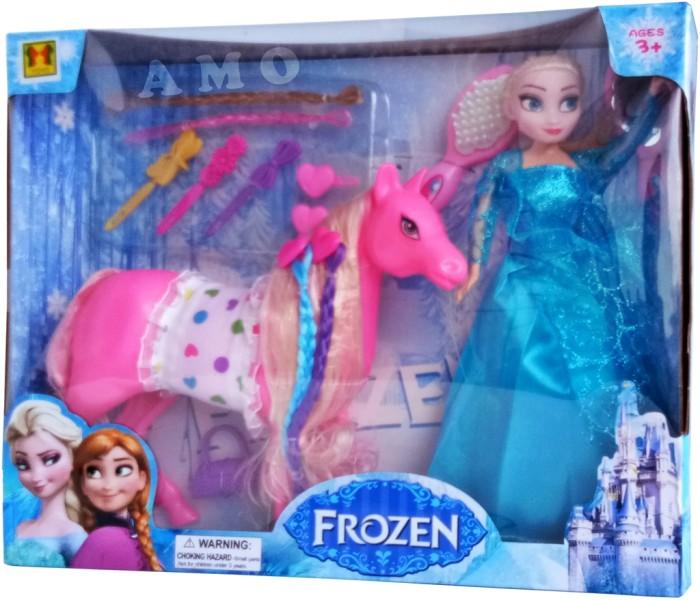 Jual Sale Boneka Frozen Elsa With Pony Mainan Baru Murah Jakarta Barat Puri Handayani Tokopedia