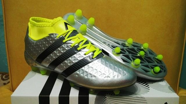 pretty nice 68475 d56c6 Jual Sepatu Bola / Soccer Adidas ACE 16.1 Primeknit Silver - FG - Jakarta  Selatan - Papa Sports | Tokopedia