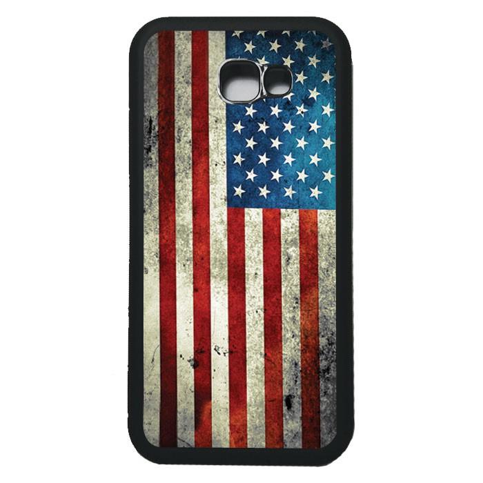 harga Case casing samsung a7 2017 softcase bumper motif bendera amerika Tokopedia.com